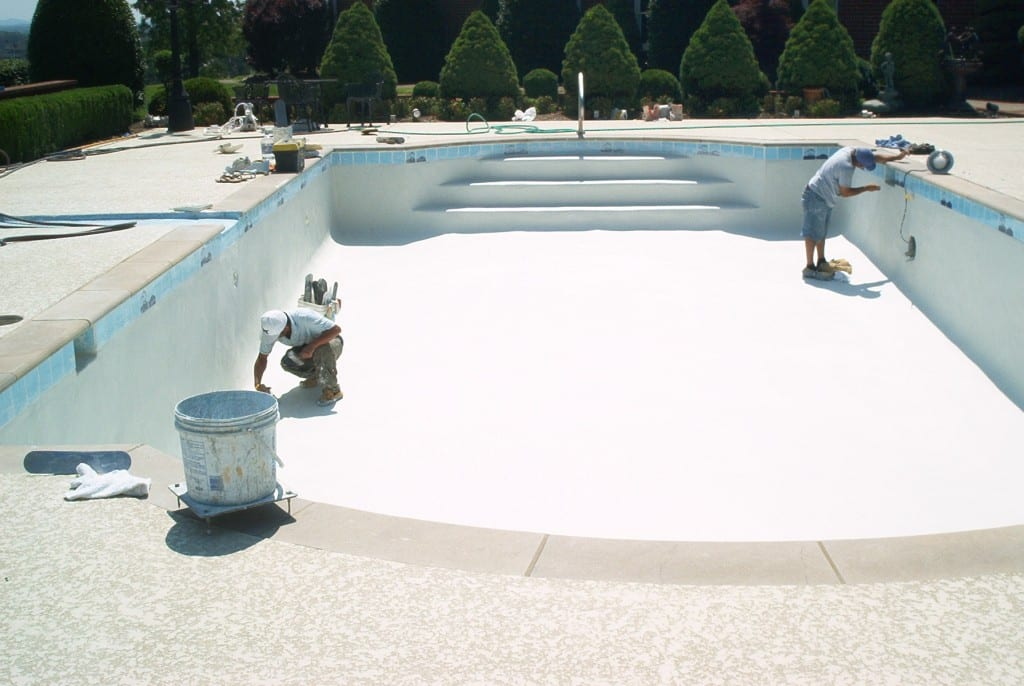 Swimming pool renovations and repairs fayetteville nc for Swimming pool resurfacing
