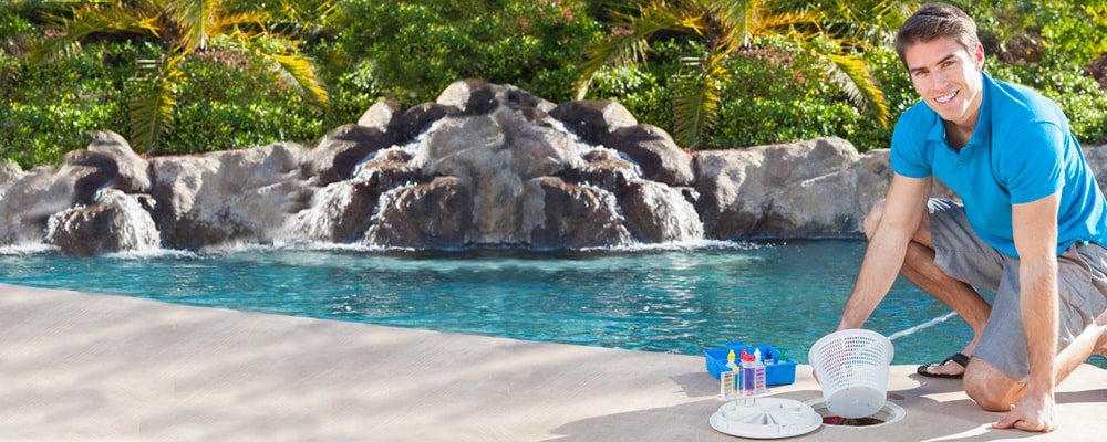 Residential Pool Cleaning : Residential commercial pool management aqua operators